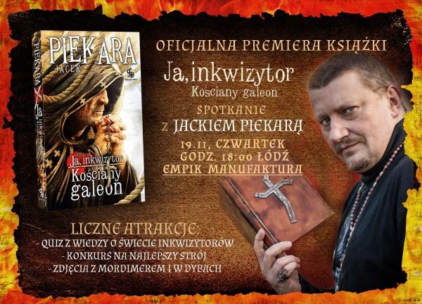 wydarzenie-premiera-powiesci-ja-inkwizytor-kosciany-galeon-oraz-spotkanie-z-jej-autorem