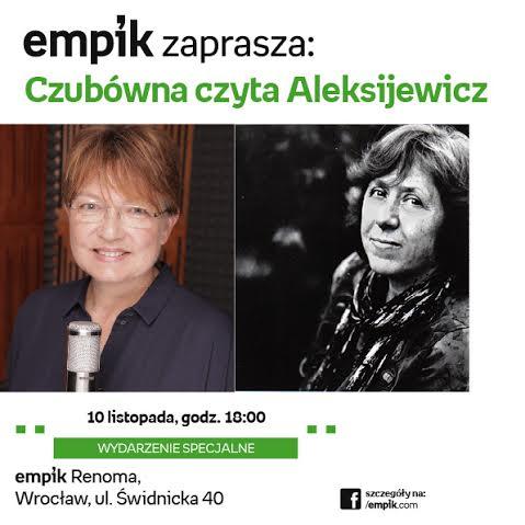 w-listopadzie-akcja-czubowna-czyta-aleksijewicz-w-trzech-miastach