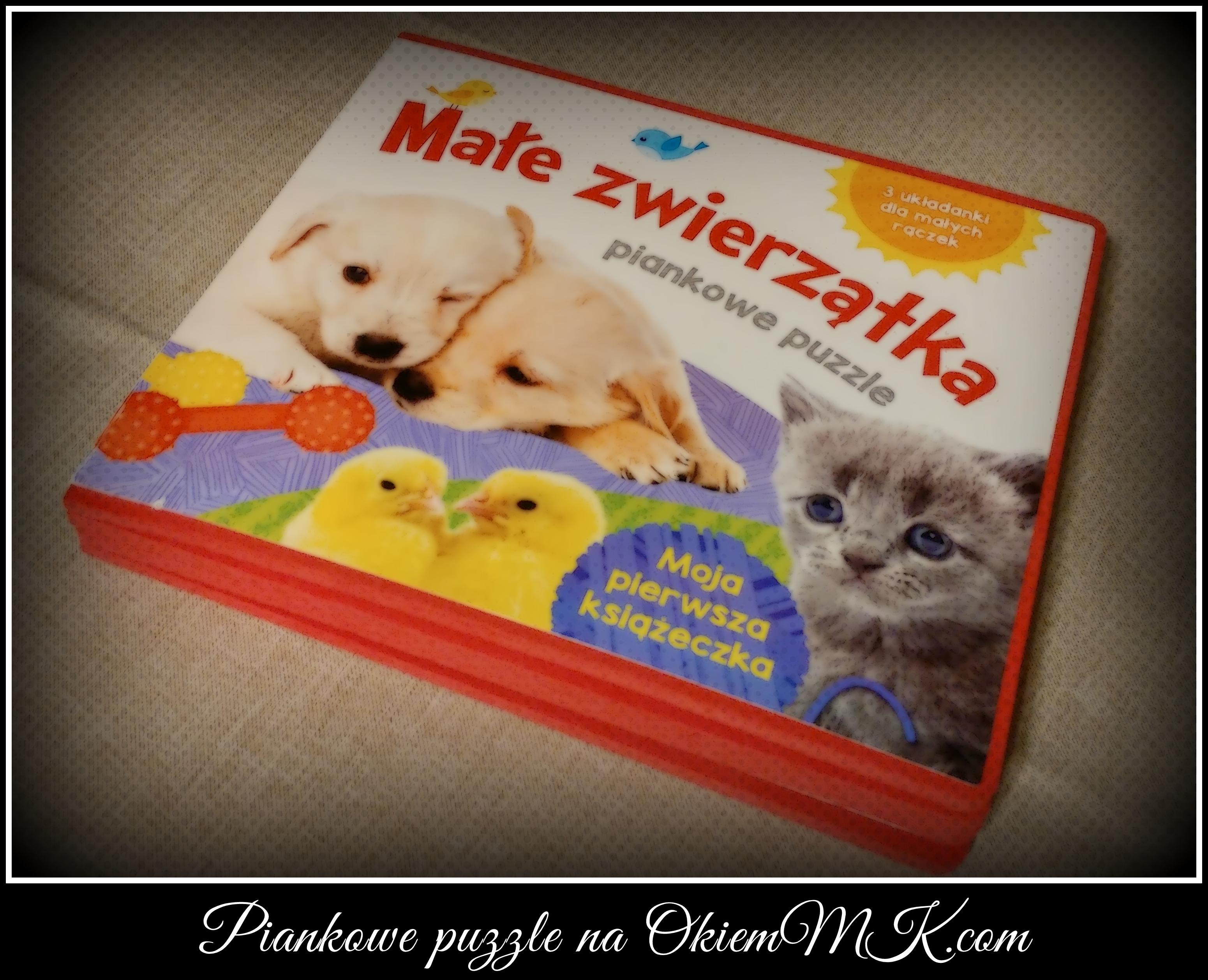 pierwsza-ksiazeczka-i-pierwsze-piankowe-puzzle-czyli-male-zwierzatka-3-ukladanki-dla-malych-raczek