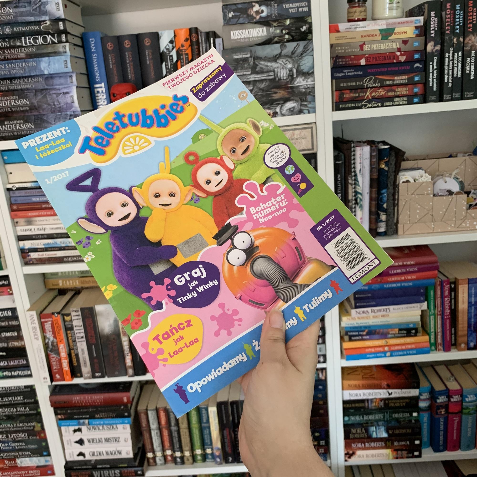 Magazyn dla dzieci Teletubbies