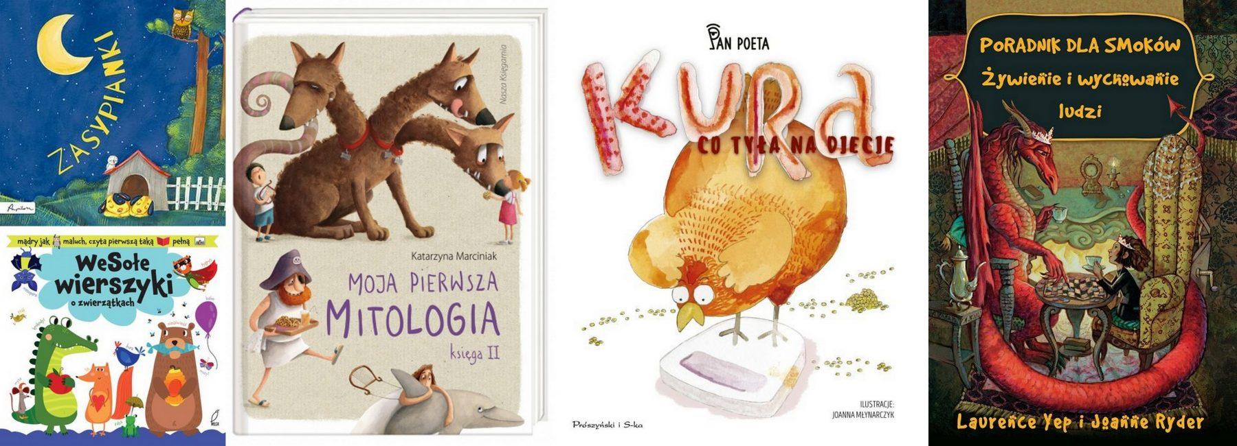 książkowe prezenty dla dzieci i młodzieży