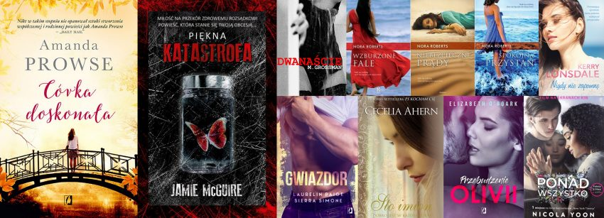 literatura kobieca topowe powieści romantyczne, obyczajowe, new adults i erotyki