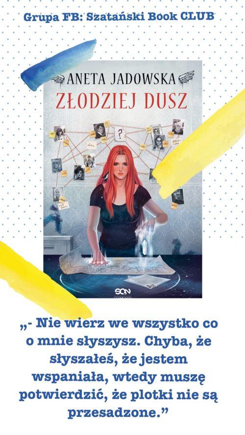 książki Anety Jadowskiej Heksologia Dora WIlk cytat