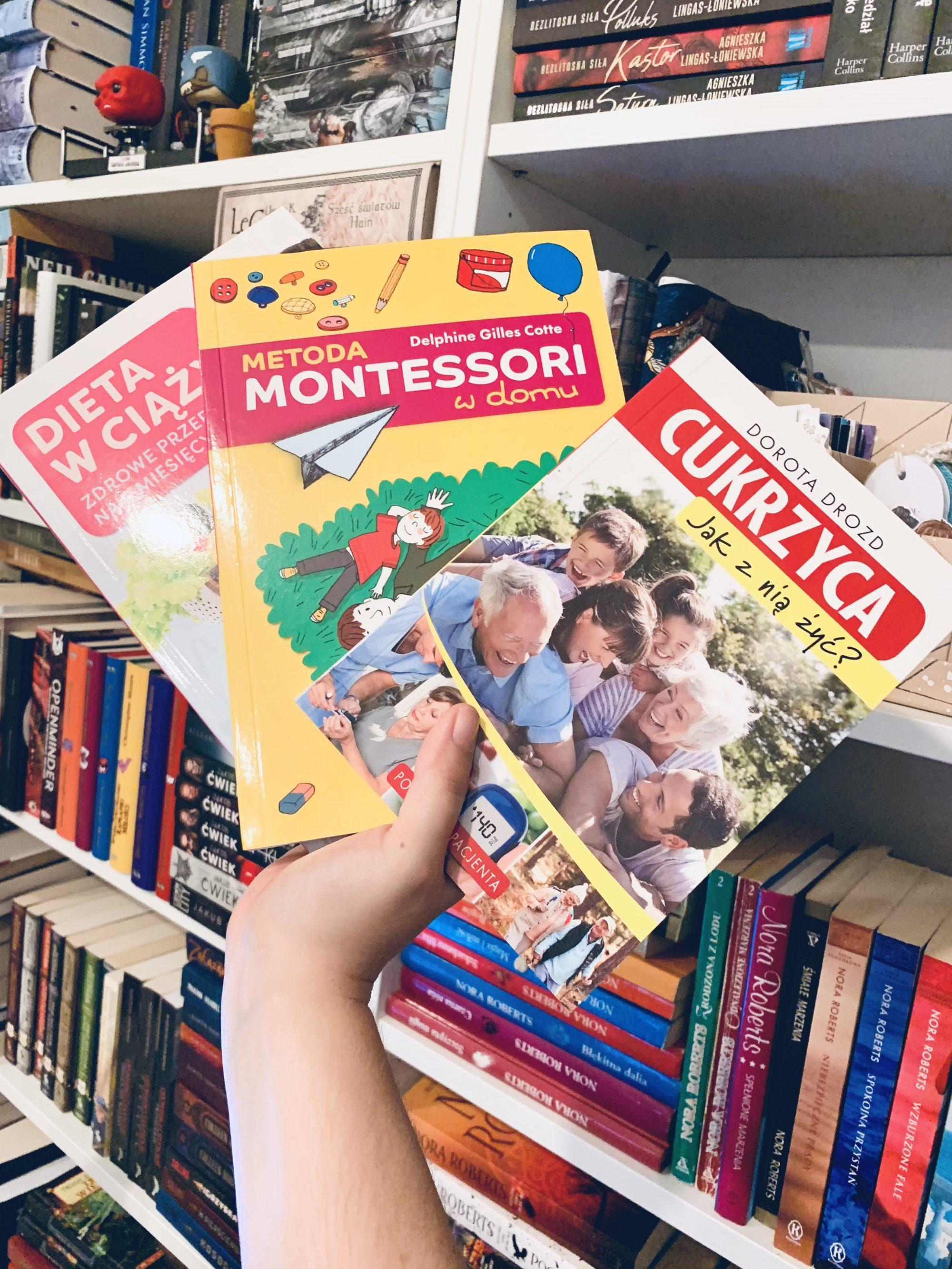 3-poradniki-wydawnictwa-rm-cukrzyca-nia-zyc-dieta-ciazy-metoda-montessori-domu