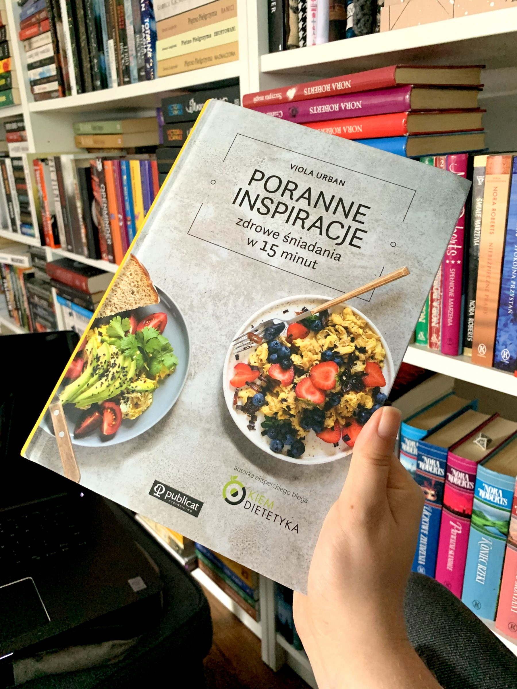 Poranne inspiracje. Zdrowe śniadania w 15 minut - Viola Urban